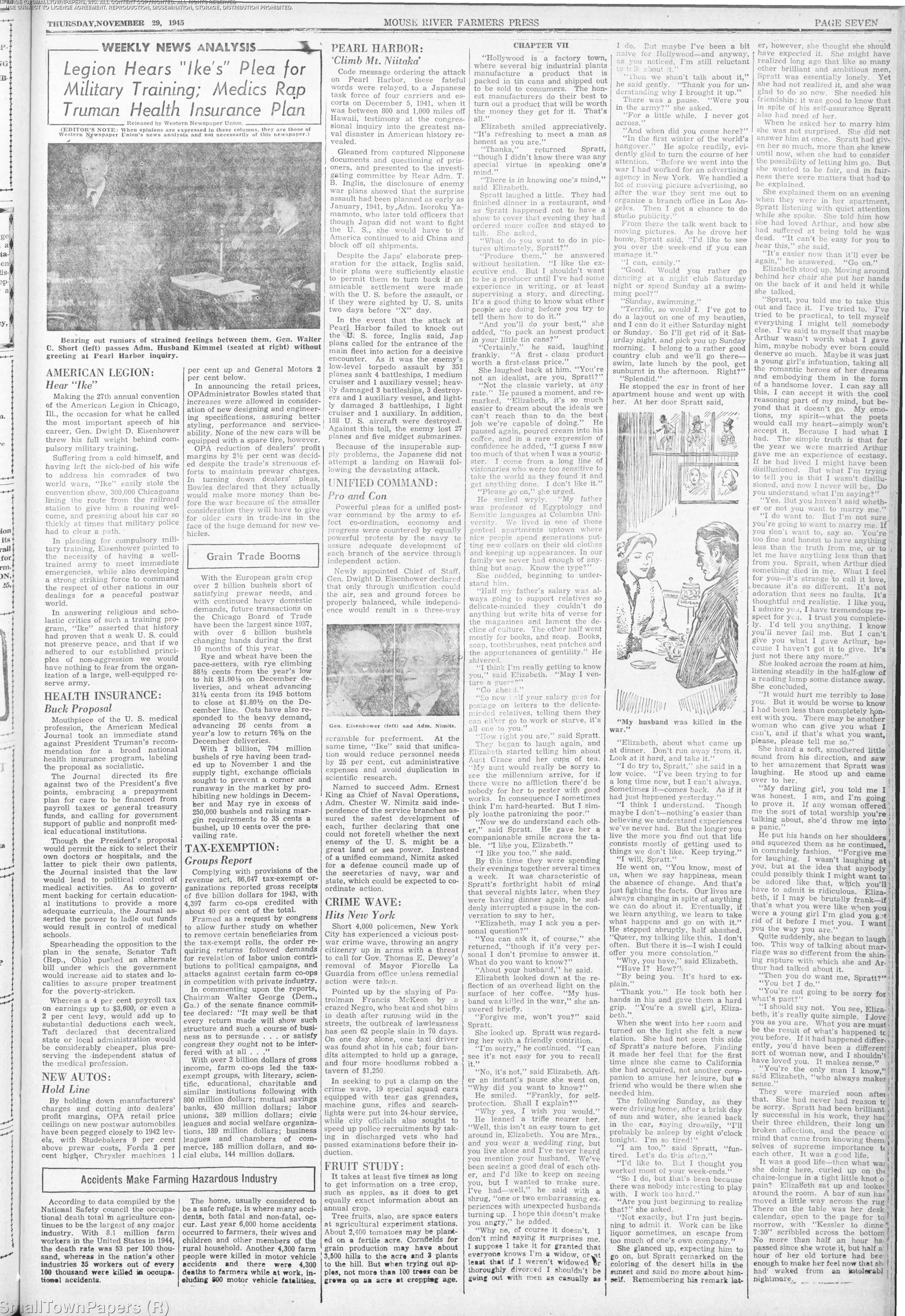 Mouse River Journal November 29, 1945: Page 7